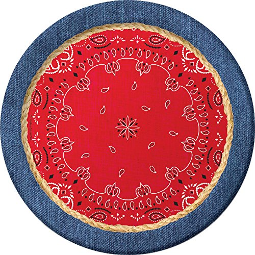 Creative Converting 427492 Dinner Plates, 8.75