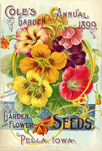 Early Rare Reproduction Art or Artwork of Vintage and Antique Collection of Garden Catalogs and Magazines Front Cover Art From Companies for Growing Vegetables or Veggies Flowers or Flowers Fruits Plants and Blubs Approx. Close to Original Size 8.5 Inches By 11 Inches for Scrapbooking Home Decor or Kitchen Decor. Or Gift Giving Advertisement Advertising