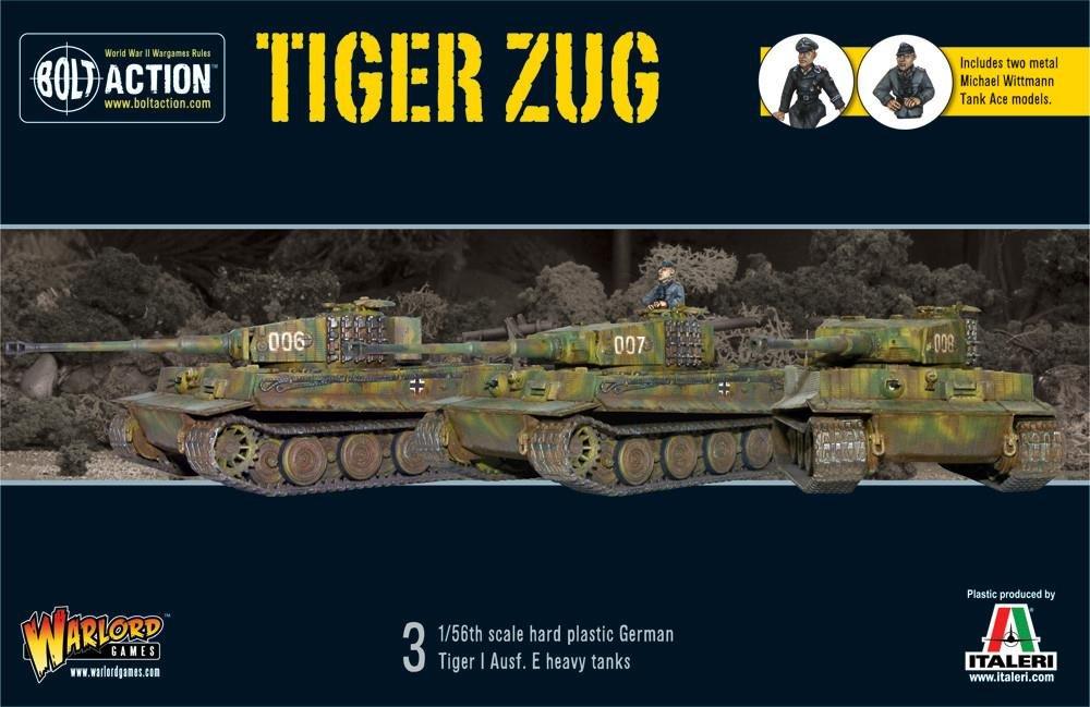Warlord Games WGB-START-18 , Bolt Action - Tiger Zug - plastic models