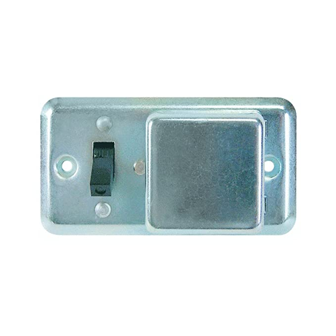Cooper BP/SSU Bussman Switch & Fuse Holder, Gray
