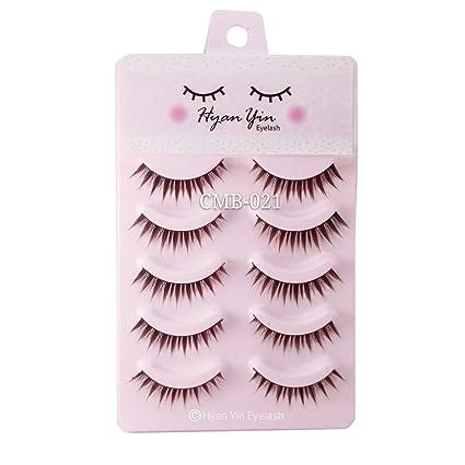 Dovewill Fashionable BJD Dolls Big Pretty Eyes Make Up Accessory Charms False Plastic Delicate Eyelashes Strip Black