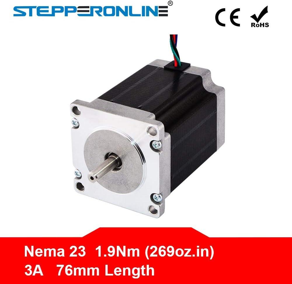 Geared Stepper 1PC Mounting Bracket Nema 23 Stepper Motor Hobby CNC//3D Printer