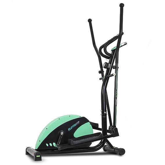Cecotec Bicicleta elíptica Eliptic Fit Sistema frenado magnético. Volante inercia 6 Kg. 8 Niveles Resistencia. Pulsómetro. Estabilizadores. Pantalla LCD.