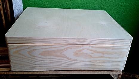 Apilables Caja de plástico con tapa (40 x 30 x 14 cm, con asas