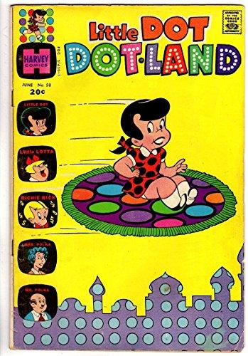 LITTLE DOT DOTLAND (1962-1973) 58 VG+ June 1973