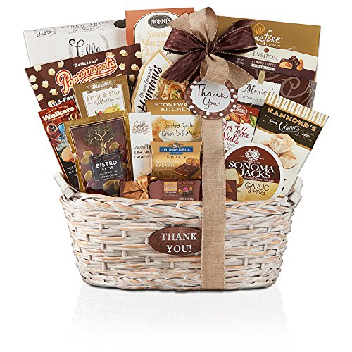 Wine Country Gift Baskets Thanks A Million, 5 Pound (Coffee And Wine Gift Baskets)
