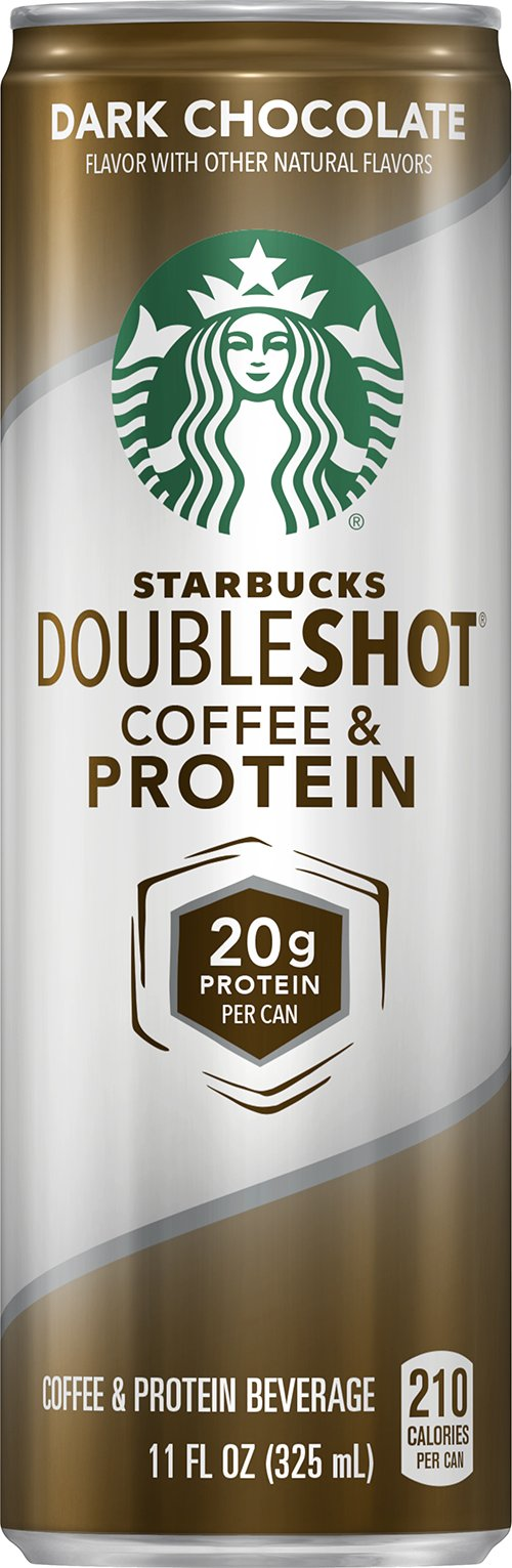 Starbucks Doubleshot Coffee and Protein, Dark Chocolate, 11 Ounce (12 Cans)