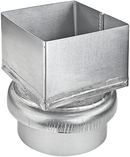 /Übergangsst/ück Kastenrohr 100 mm auf Fallrohr DN100