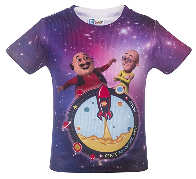 Motu Patlu Hd Print Tshirt For Boys Amazon In Clothing Accessories