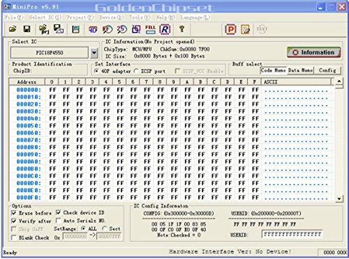 Chipset Club TL866A Universal Programmer USB EPROM EEPROM FLASH BIOS
