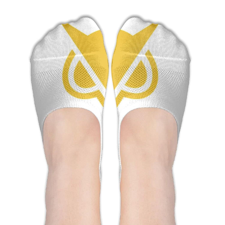 Womens Vanoss Owl Logo No Show Socks Athletic Low Stockings