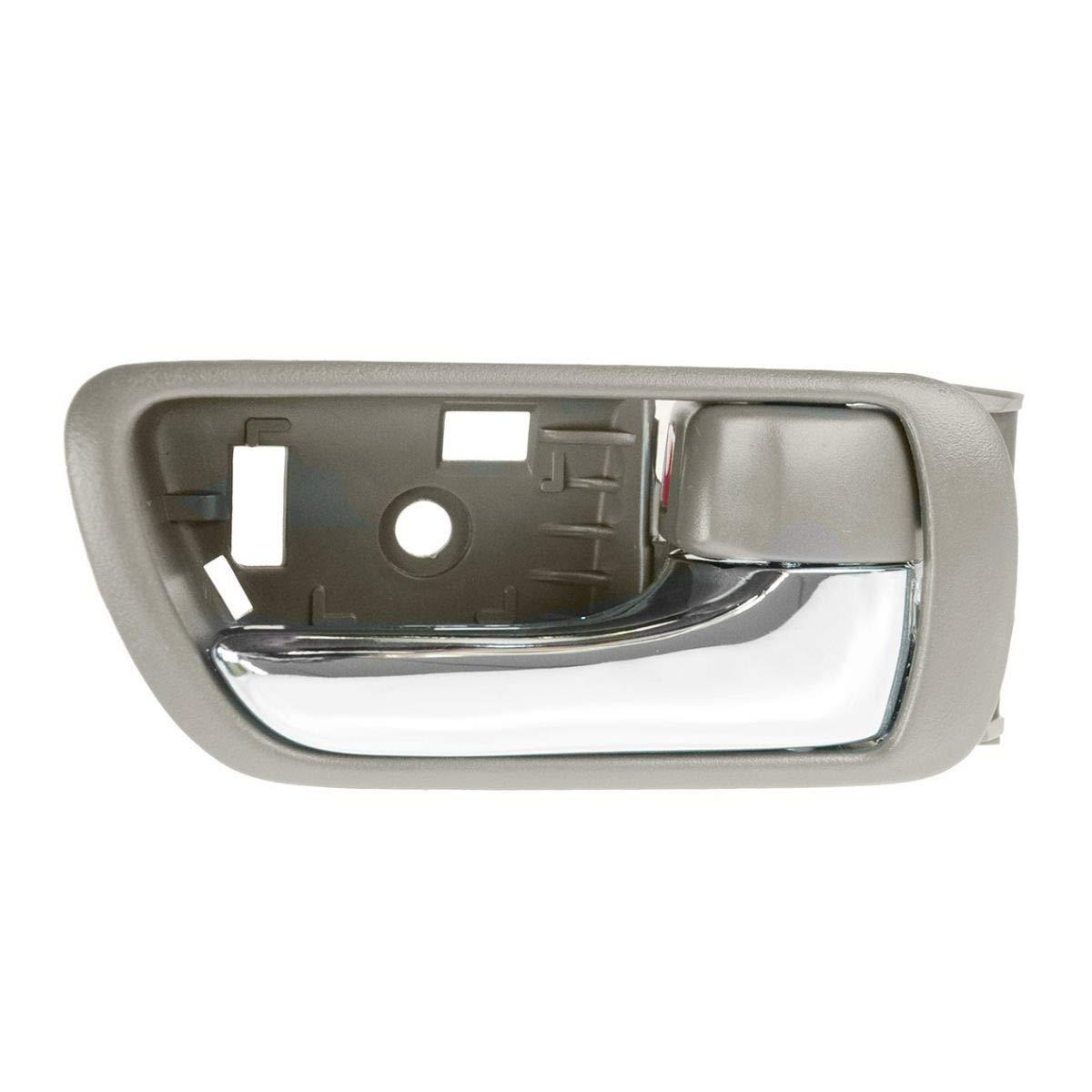 Inside Door Handle Black LH Driver RH Passenger PAIR for 02-06 Toyota Camry