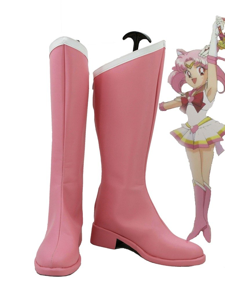 Sailor Moon Chibi Usa Cosplay Shoes Boots Custom Made 11 B(M) US Female
