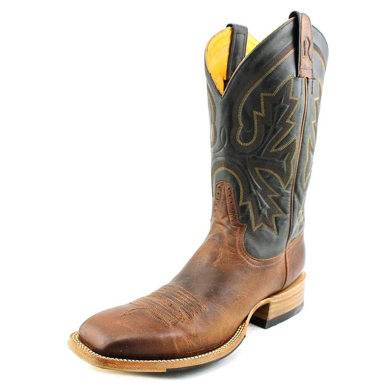 Rod Patrick Perro Loco Men Round Toe Leather Brown Western Boot