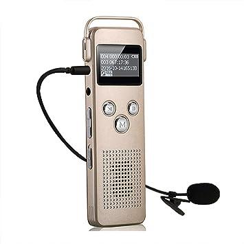 noyazu A20 HD sonido Grabadora de voz digital Reproductor de ...