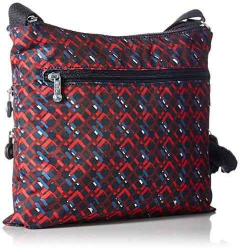 Kipling Bag Alvar Groovy Crossbody Lines Solid CC10q