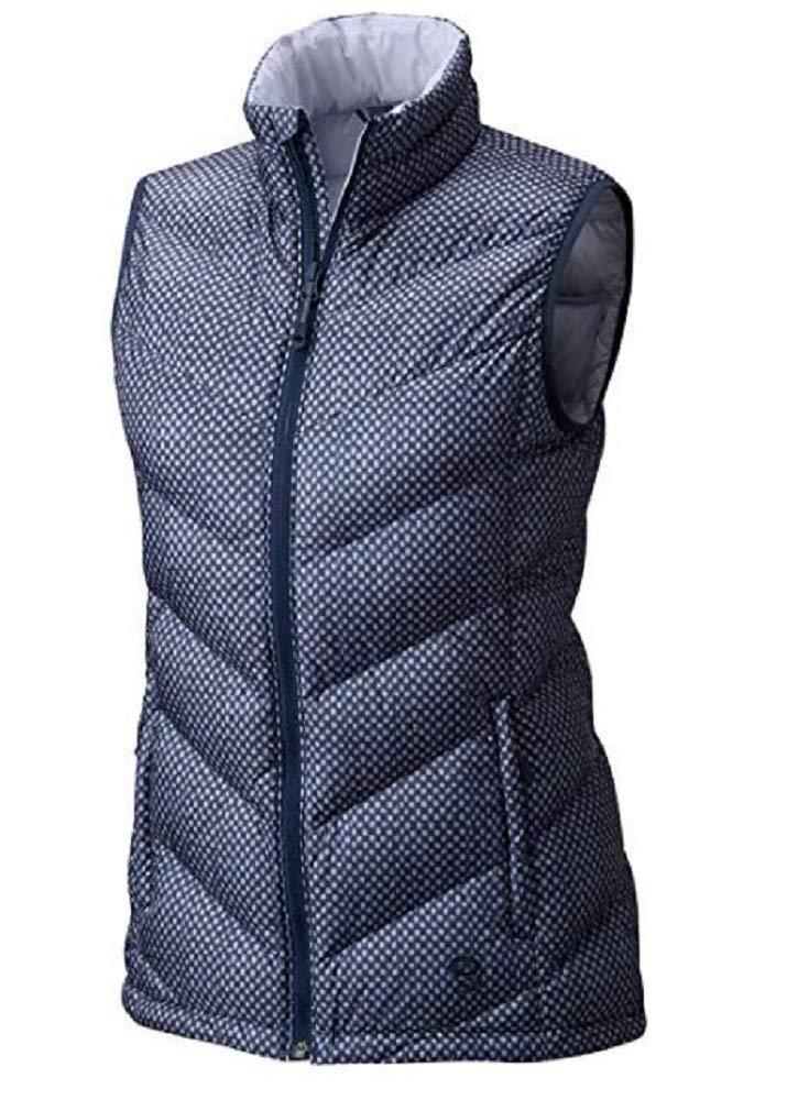 Mountain Hardwear Women's Ratio Down Vest Zinc Print Small by Mountain Hardwear