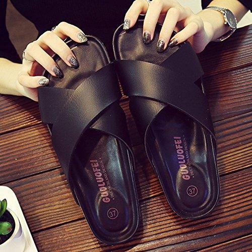 taille Couleur ChaussonsChaussures Confort ZHANGRONG Noir 5 Blanc pour CN37 5 B EU37 Couleur C UK4 Y8wZwqd