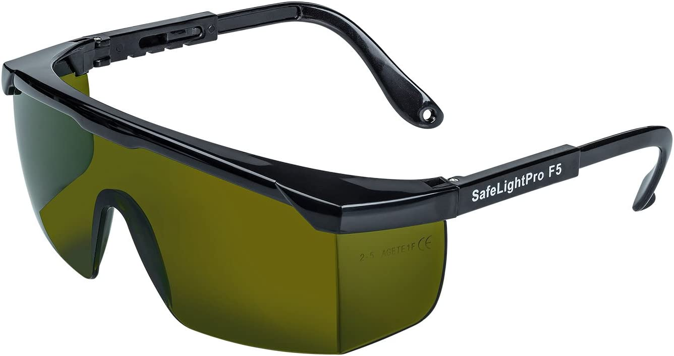 occhiali per luce pulsata safelight pro f5