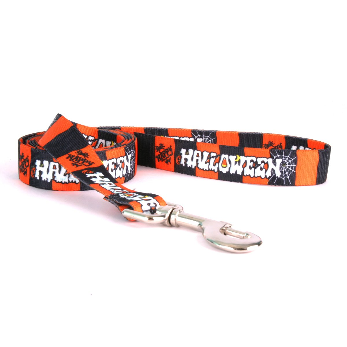 Yellow Dog Design Standard Lead, Happy Halloween, 3/4'' x 60'' (5 ft.) by Yellow Dog Design