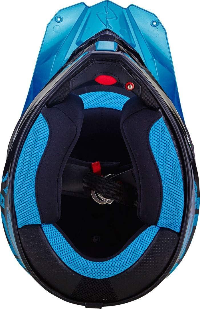 Scorpion VX-21 AIR MUDIRT Black-Neon Red XS