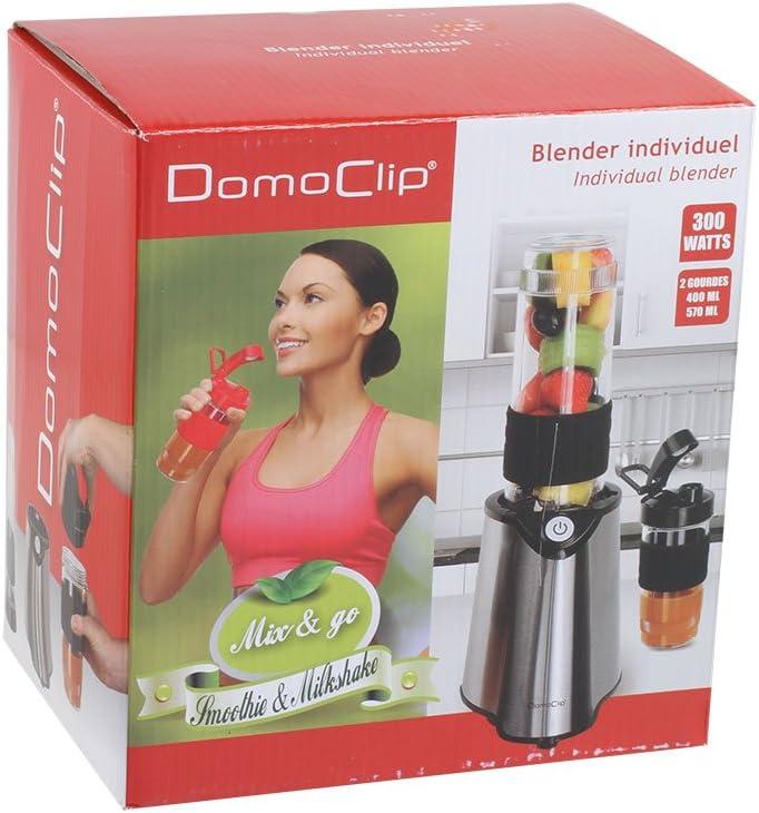 Domoclip licuadora individual Negro: Amazon.es: Hogar
