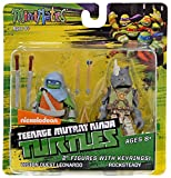 Teenage Mutant Ninja Turtles Minimates w/Keyrings - Vision Quest Leonardo & Rocksteady