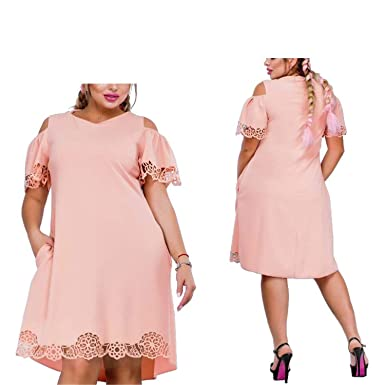 Memoriesed Women Dress Plus Size 6XL Ladies Female Summer ...