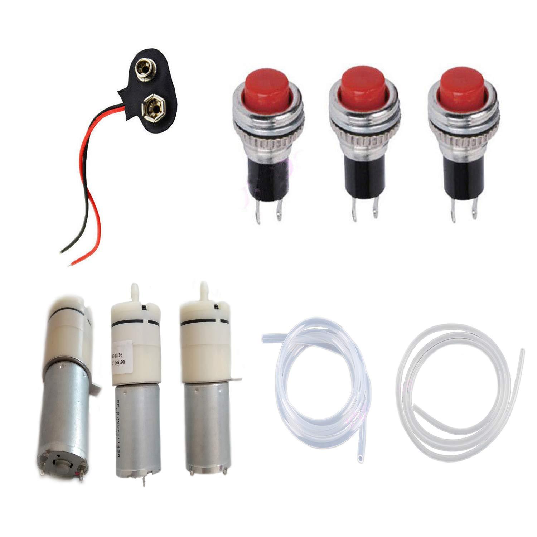 DC 9V 12V Mini Air Pump Motor kits For Homemade Dispenser Machine Fountain Drink