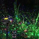 Poeland Garden Laser Lights Waterproof Christmas Projector Lighting with Security Lock