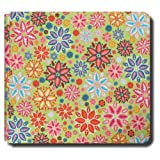 Collected Memories PB-Groovy-Garden Fabric-Covered Post-Bound 12-by-12-Inch Scrapbook Album, Groovy Garden