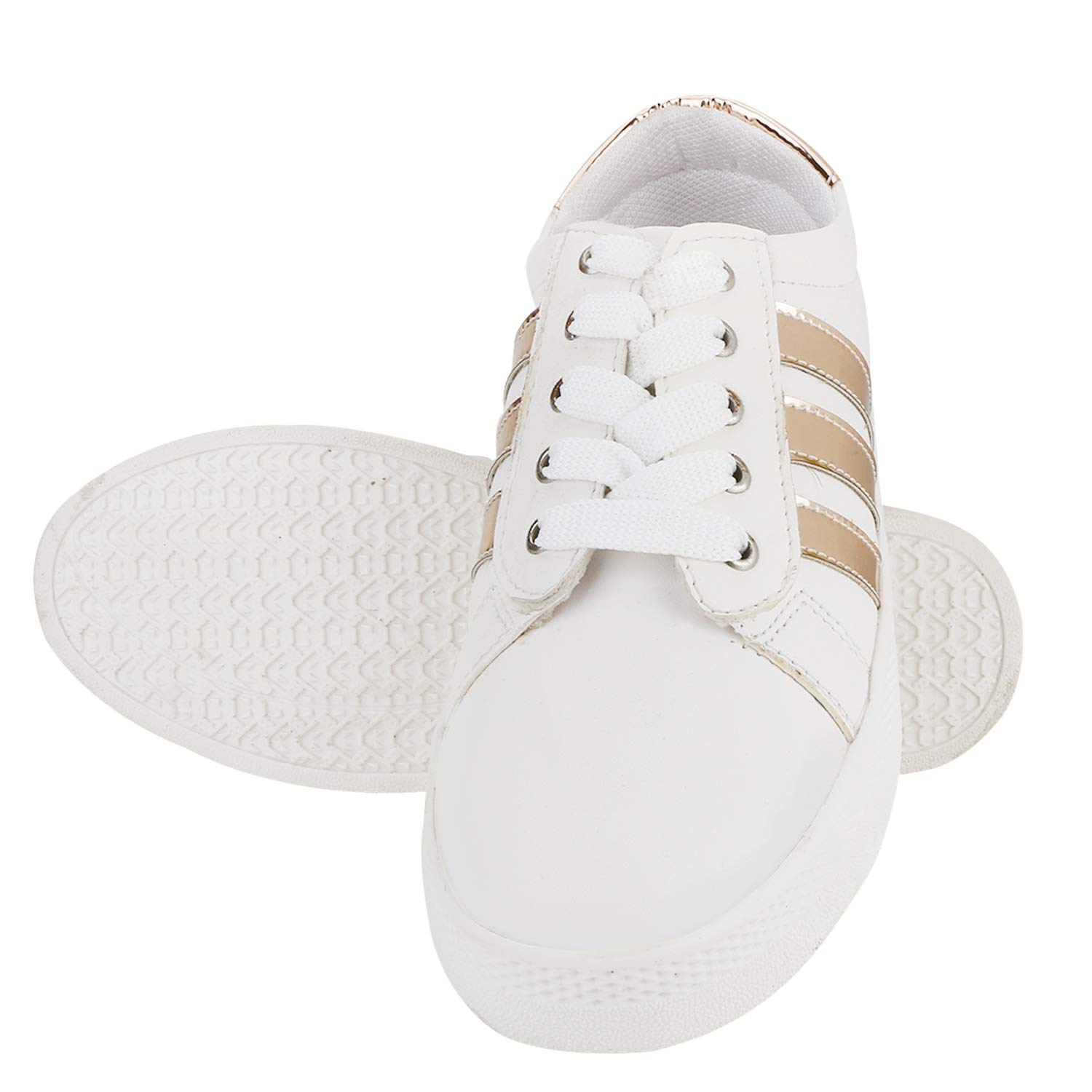 Buy Quarks PU Casual Lace up Shoes with