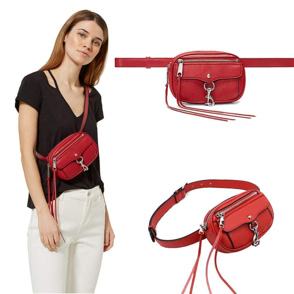 Women Waist Fanny Pack Fashion Chest Bag Tassel Crossbody Bag for Girls