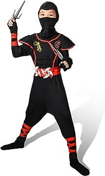 Proumhang Disfraz de Cosplay Halloween Ninja Samurai Ninja ...