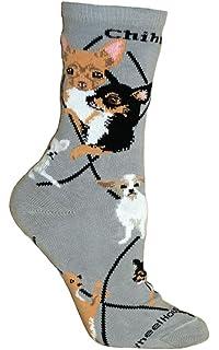 LADIES CHIHUAHUA MEXICAN DOG FIESTA MARACAS SOCKS UK 4-8 EUR 37-42 USA 6-10