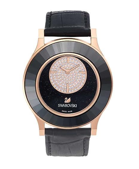 Swarovski Reloj analogico para Mujer de Cuarzo con Correa en Piel 5095484: Amazon.es: Relojes