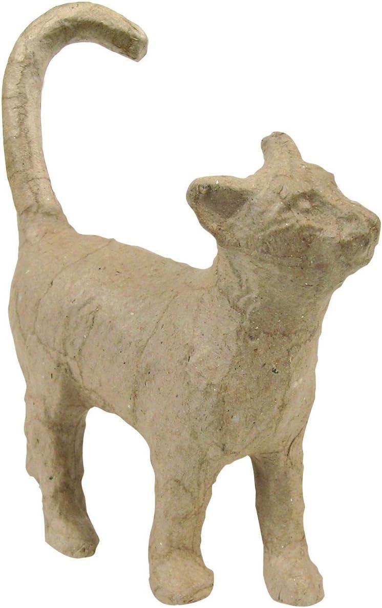 Amazon Com Decopatch Small Papier Mache Cat Figurine 5