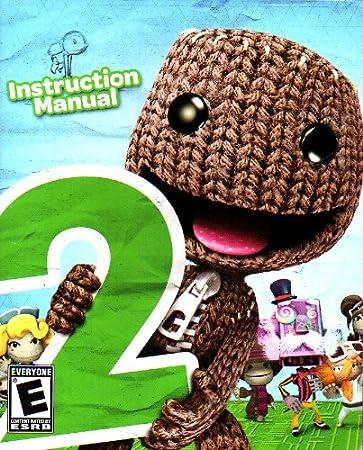 amazon com little big planet 2 ps3 instruction booklet sony rh amazon com Little Big Planet 2 Logo Little Big Planet 4