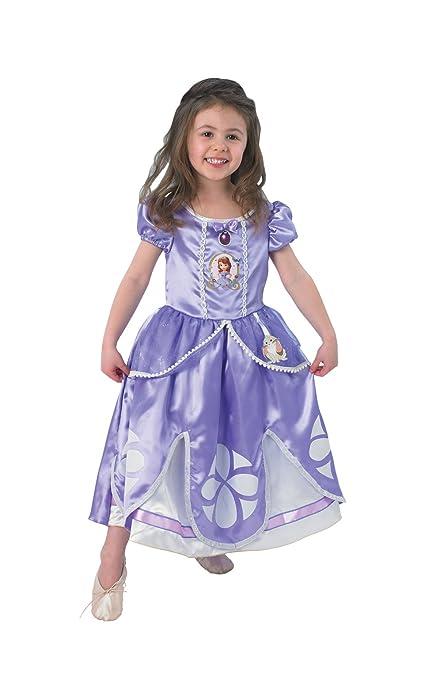 Rubies Disney - Disfraz de princesa para niña, talla S (3-4 años) (I-889548S)
