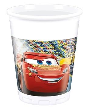 8 vasos * Cars 3 * de Disney para fiestas de cumpleaños ...