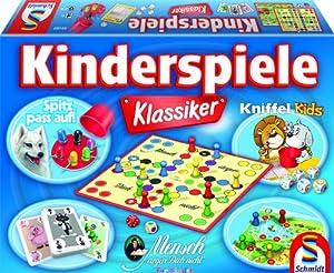 Schmidt Spiele 49180 - Kinderspiele Klassiker, Spielesammlung