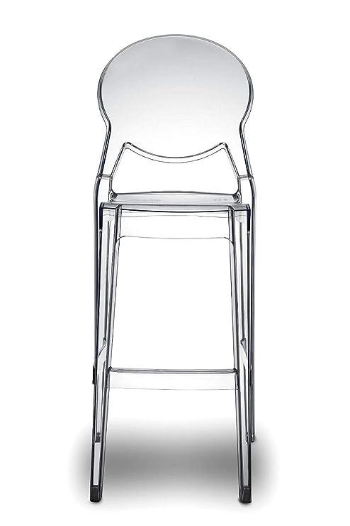 Sgabelli In Plexiglass.Scab Design Set 2 Sgabelli Igloo H 74 Colore Trasparente