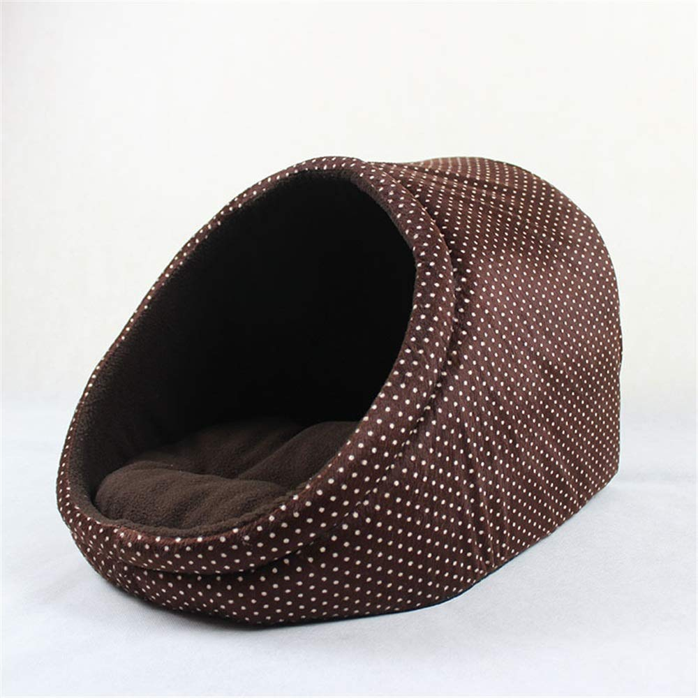 Brown Onesize Brown Onesize Dog Kennel Pet Nest Taidi golden Retriever Small Dog Small and Medium-Sized Dog House Small Animal Beds (color   Brown, Size   OneSize)