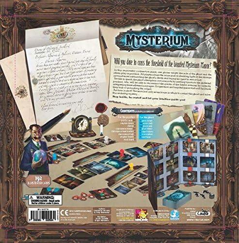 Asmodee 2955 Mysterium - Juego de Mesa: Amazon.es: Juguetes y juegos