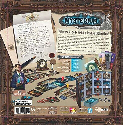 Asmodee Mysterium, Multi Color Board Game