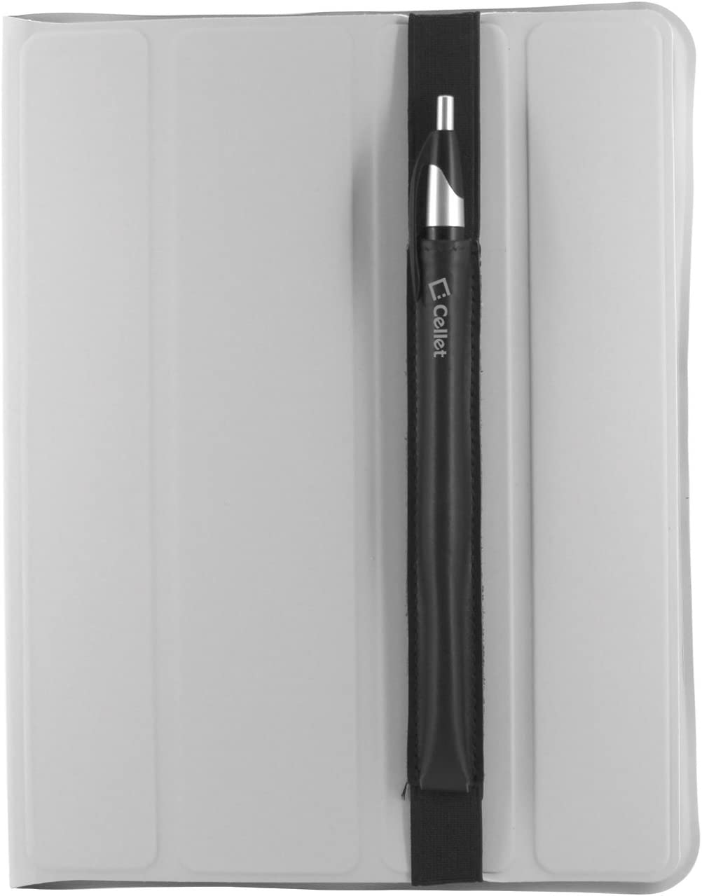 Cellet Stylus Pen and Pencil Holder for Tablets, Compatibility for Apple iPad/iPad Air/Pro 10.5/iPad 9.7, Samsung Galaxy Tab 4/3/2 Google Pixel, ZenPad, Amazon Fire, Microsoft Surface-Black