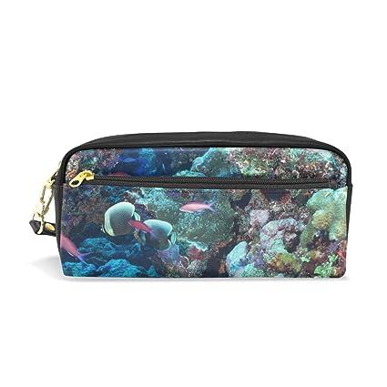 Ahomy Ocean - Estuche para lápices de arrecife de coral ...