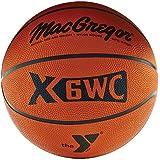 MacGregor Official Rubber basketball W/Ymca Logo