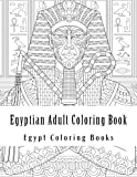 Egyptian Adult Coloring Book: Simple Large One Sided Stress Relieving, Relaxing Sea Shells & Turtles Coloring Book For Grownups and Youths. Easy Egypt ... Scenes Coloring Books (Pharaohs, Pyramids)