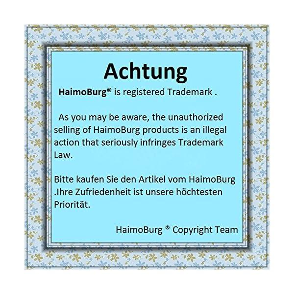 HaimoBurg Confezione da 6 Impermeabili Cotone Mutandine di Apprendimento per Bambino (1-2 Anni, A) 7